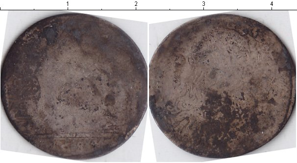 Картинка Монеты Сицилия 10 грани Серебро 1684