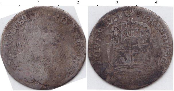 Картинка Монеты Сицилия 10 гран Серебро 1688