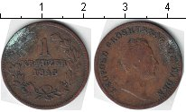 Изображение Монеты Баден 1 крейцер 1845 Медь  Леопольд