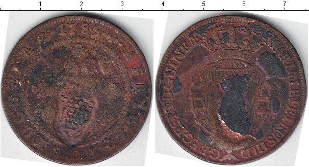 Картинка Монеты Португальсая Африка 1 макута Серебро 1785