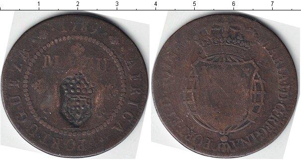 Картинка Монеты Португальсая Африка 1 макута Медь 1789