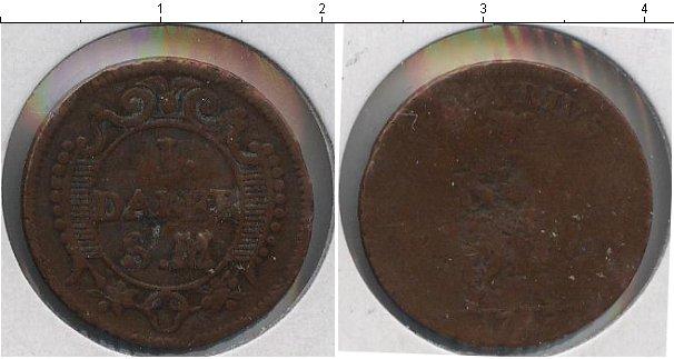 Картинка Монеты Швеция 1 далер Медь 1718