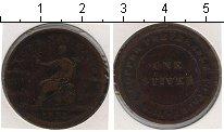 Изображение Монеты Великобритания 1 стивер 1838 Медь  Токен