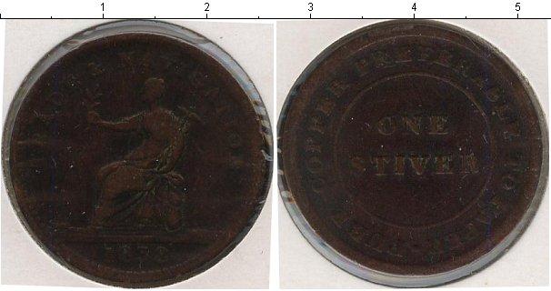 Картинка Монеты Великобритания 1 стивер Медь 1838