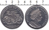 Монета Остров Мэн 1 крона Медно-никель 2007 UNC фото
