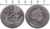 Изображение Мелочь Великобритания Остров Мэн 1 крона 2004 Медно-никель UNC-