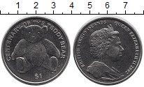 Изображение Мелочь Виргинские острова 1 доллар 2002 Медно-никель UNC- Тедди