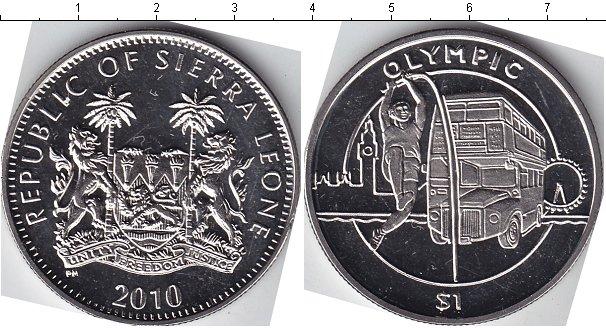 Картинка Мелочь Сьерра-Леоне 1 доллар Медно-никель 2012