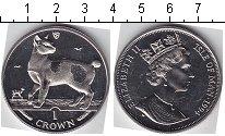 Монета Остров Мэн 1 крона Медно-никель 1994 UNC-