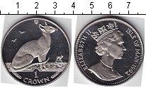 Изображение Мелочь Остров Мэн 1 крона 1992 Медно-никель UNC-