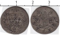 Изображение Монеты Гамбург 1 шиллинг 1762 Серебро