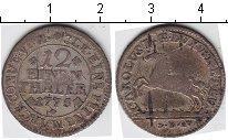 Изображение Монеты Ганновер 1/12 талера 1775 Серебро
