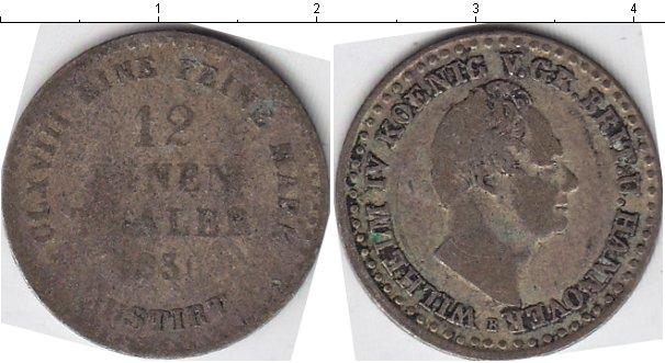 Картинка Монеты Ганновер 1/12 талера Серебро 1831
