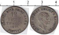 Изображение Монеты Ганновер 1/12 талера 1848 Серебро  Эрнест Август