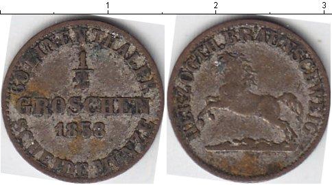 Картинка Монеты Ганновер 1/2 гроша Серебро 1858