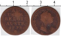 Изображение Монеты Бельгия 1 лиард 1778 Медь  Мария Терезия