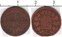 Изображение Монеты Бавария 1 пфенниг 1860 Медь