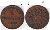 Изображение Монеты Бавария 1 пфенниг 1862 Медь