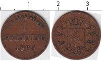 Изображение Монеты Бавария 1 пфенниг 1863 Медь