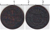 Изображение Монеты Бавария 1 пфенниг 1851 Медь