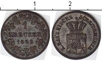 Изображение Монеты Бавария 1 крейцер 1862 Серебро