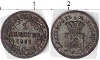 Изображение Монеты Бавария 1 крейцер 1866 Серебро