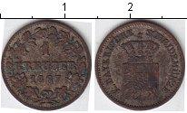 Изображение Монеты Бавария 1 крейцер 1867 Серебро