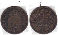 Изображение Монеты Бавария 1 крейцер 1850 Серебро