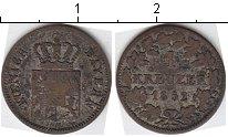 Изображение Монеты Бавария 1 крейцер 1852 Серебро