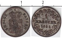 Изображение Монеты Бавария 1 крейцер 1856 Серебро