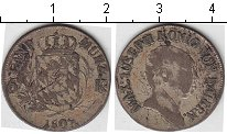 Изображение Монеты Бавария 6 крейцеров 1807 Серебро  Максимилиан Иосиф II