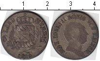Изображение Монеты Бавария 6 крейцеров 1820 Серебро  Максимилиан Иосиф II