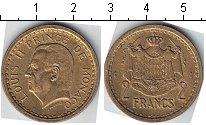 Изображение Мелочь Монако 2 франка 0   Луис II