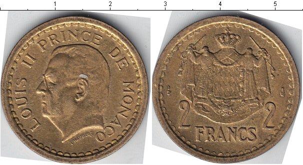 Картинка Мелочь Монако 2 франка  0
