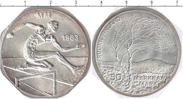 Картинка Мелочь Финляндия 50 марок Серебро 1983