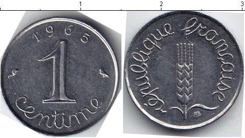 Картинка Мелочь Франция 1 сентим Медно-никель 0