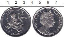 Изображение Мелочь Остров Мэн 1 крона 2001 Медно-никель