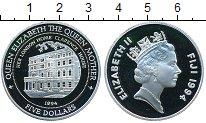 Изображение Монеты Фиджи 5 долларов 1994 Серебро