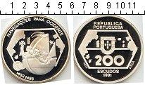 Изображение Монеты Португалия 200 эскудо 1991 Серебро