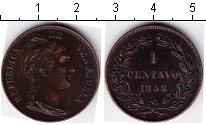 Изображение Монеты Венесуэла 1 сентаво 1858 Медь  Y#7