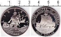 Изображение Мелочь США 1/2 доллара 1992 Медно-никель Proof 500- летие открытия