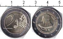 Изображение Мелочь Словакия 2 евро 2009 Биметалл UNC- Демократия