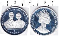 Изображение Монеты Остров Мэн 1 крона 1999 Серебро  Королева- мать