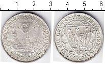 Изображение Монеты Веймарская республика 3 марки 1931 Серебро  Магдубург