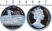 Изображение Монеты Гибралтар 1 крона 1997 Серебро