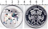 Изображение Монеты Того 100 франков 2011 Серебро