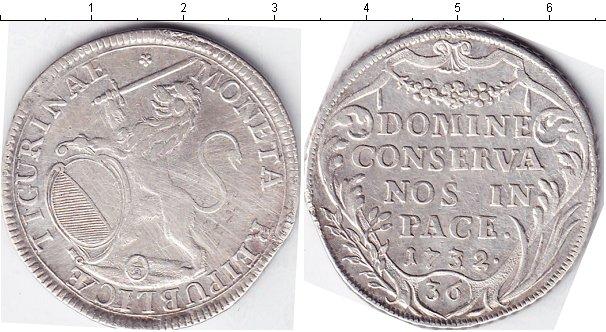 Картинка Монеты Цюрих 1/2 талера Серебро 1732