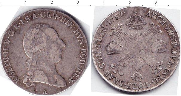 Картинка Монеты Габсбург 1/2 талера Серебро 1789