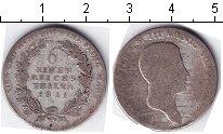 Изображение Монеты Пруссия 1/6 талера 1811 Серебро  Портрет