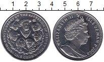 Изображение Мелочь Остров Мэн 1 крона 2009 Медно-никель UNC- Родословная Генри VI
